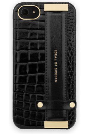 Ideal of sweden Statement Case iPhone 8 Neo Noir Croco Strap handle
