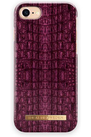 Ideal of sweden Fashion Case iPhone 7 Burgundy Croco