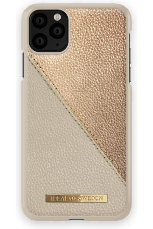Ideal of sweden Fashion Case LH iPhone 11 PRO MAX Golden Pebbled