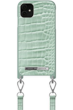 Ideal of sweden Atelier Necklace Case iPhone 11 Mint Croco