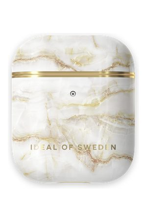 Ideal of sweden Fashion AirPods Case Golden Pearl Marble