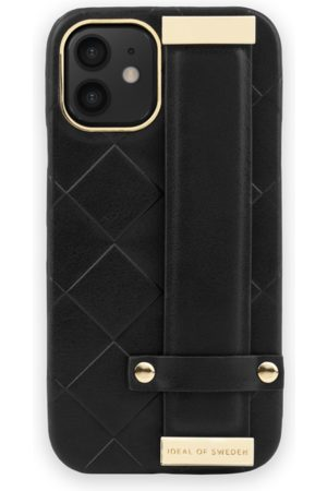 Ideal of sweden Statement Case iPhone 12 Mini Braided Smooth Noir
