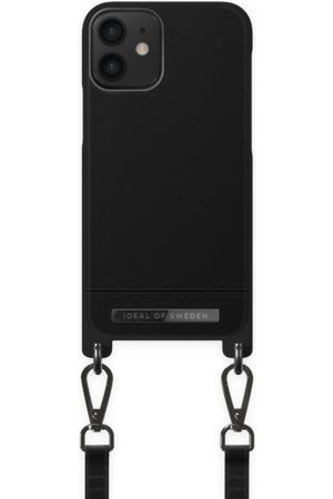 Ideal of sweden Atelier Phone Necklace Case iPhone 12 Mini Onyx Black