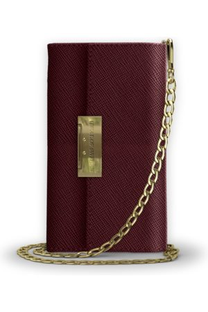 Ideal of sweden Kensington Clutch iPhone 11 PRO/XS/X Burgundy