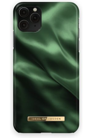 Ideal of sweden Fashion Case iPhone 11 Pro Max Emerald Satin