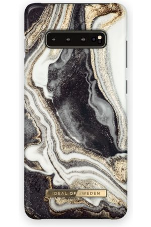 Ideal of sweden Fashion Case Galaxy s10+ Golden Ash marble