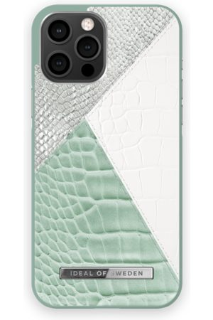 Ideal of sweden Atelier Case iPhone 12 Pro Max Palladian Mint Snake