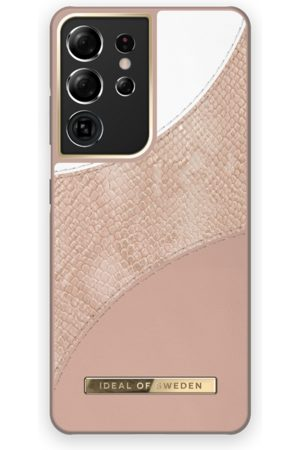 Ideal of sweden Atelier Case Galaxy S21 Ultra Blush Pink Snake