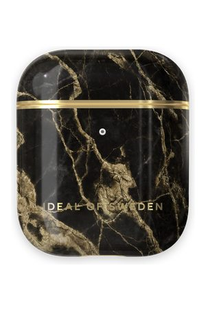 Ideal of sweden Fashion AirPods Case Golden Smoke Marble