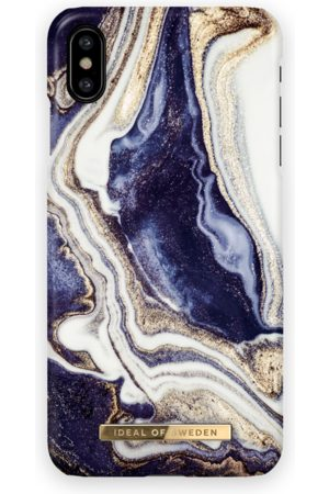 Ideal of sweden Fashion Case iPhone XS MAX Golden Indigo marble