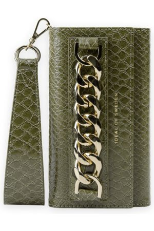 Ideal of sweden Studio Clutch iPhone 11 PRO Max Green Snake