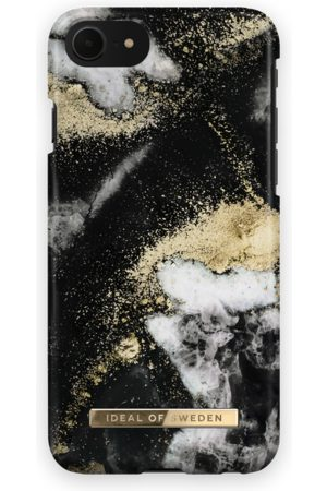 Ideal of sweden Fashion Case iPhone 7 Black Galaxy Marble