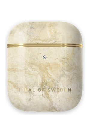 Ideal of sweden Fashion AirPods Case Sandstorm Marble