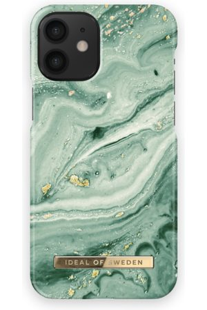 Ideal of sweden Fashion Case iPhone 12 Mini Mint Swirl Marble