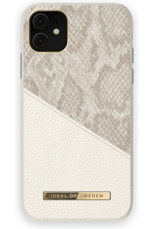 Ideal of sweden Atelier Case iPhone 11 Pearl Python