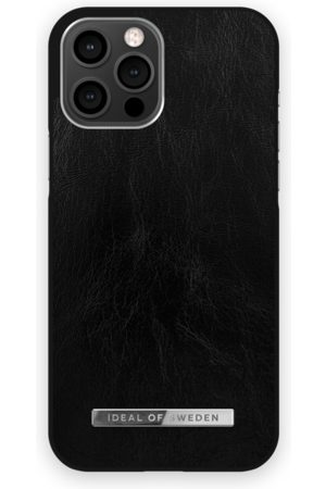 Ideal of sweden Atelier Case iPhone 12 Pro Max Glossy Black Silver