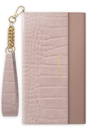 Ideal of sweden Signature Clutch iPhone 12 Pro Max Misty Rose Croco