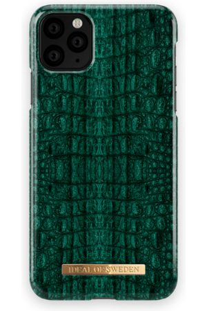 Ideal of sweden Fashion Case iPhone 11 PRO MAX Emerald Croco
