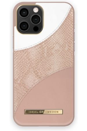 Ideal of sweden Atelier Case iPhone 12 Pro Max Blush Pink Snake