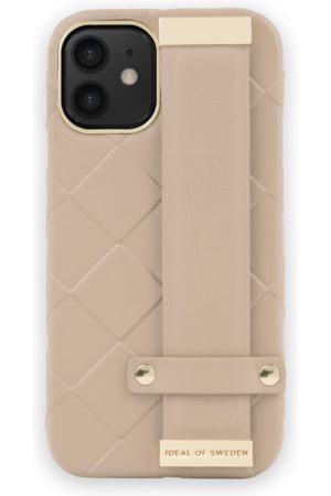 Ideal of sweden Statement Case iPhone 12 Mini Braided Light Camel