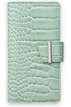 Ideal of sweden Cora Phone Wallet iPhone 8 Plus Mint Croco