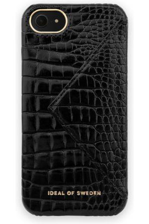 Ideal of sweden Statement Case iPhone 8 Neo Noir Croco Flap Pocket