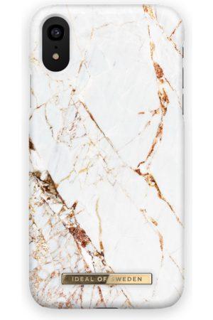Ideal of sweden Fashion Case iPhone XR Carrara Gold