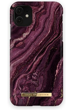 Ideal of sweden Fashion Case iPhone 11 Golden Plum