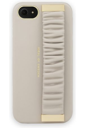 Ideal of sweden Statement Case iPhone 8 Ruffle Cream Top-Handle