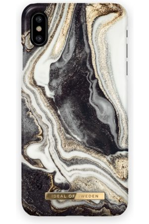 Ideal of sweden Fashion Case iPhone XS MAX Golden Ash marble
