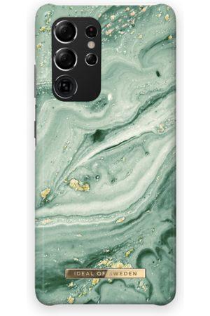 Ideal of sweden Fashion Case Galaxy S21 Ultra Mint Swirl Marble