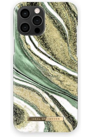 Ideal of sweden Fashion Case iPhone 12 Pro Max Cosmic Green Swirl