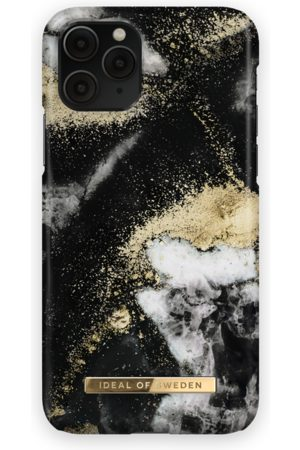 Ideal of sweden Fashion Case iPhone 11 Pro Black Galaxy Marble