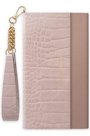 Ideal of sweden Signature Clutch iPhone 12 Pro Misty Rose Croco