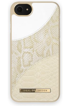 Ideal of sweden Atelier Case iPhone 8 Cream Gold Snake