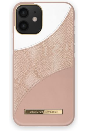 Ideal of sweden Atelier Case iPhone 12 Mini Blush Pink Snake