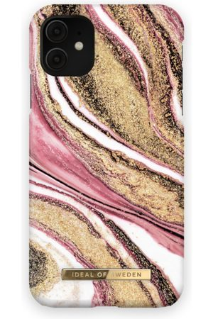 Ideal of sweden Fashion Case iPhone 11 Cosmic Pink Swirl