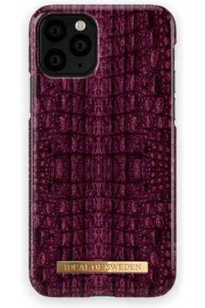 Ideal of sweden Fashion Case iPhone 11 PRO Burgundy Croco