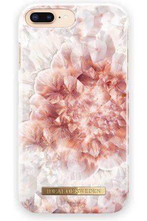 Ideal of sweden Fashion Case Hannalicious iPhone 8 Plus Rose Quartz Crystal