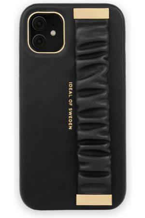 Ideal of sweden Statement Case iPhone 11 Ruffle Noir Top-Handle