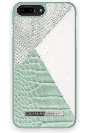 Ideal of sweden Atelier Case iPhone 8 Plus Palladian Mint Snake
