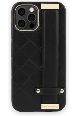 Ideal of sweden Statement Case iPhone 12 Pro Max Braided Smooth Noir