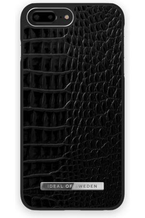 Ideal of sweden Atelier Case iPhone 8 Plus Neo Noir Croco Silver