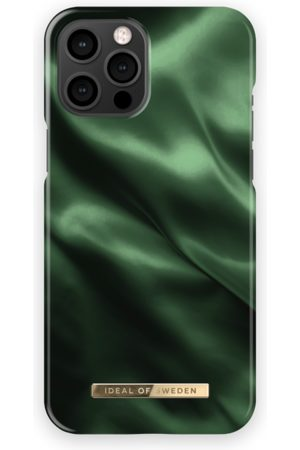 Ideal of sweden Fashion Case iPhone 12 Pro Max Emerald Satin