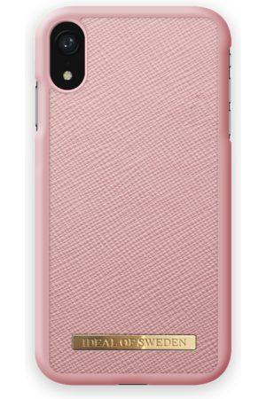 Ideal of sweden Saffiano Case iPhone XR Pink