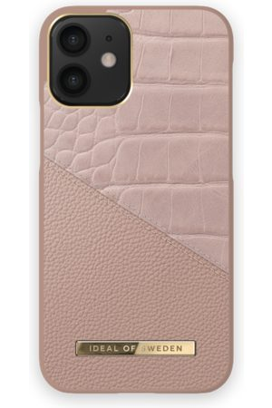 Ideal of sweden Atelier Case iPhones 12 Mini Rose Smoke Croco