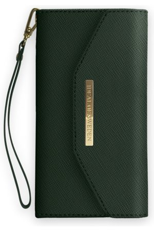 Ideal of sweden Mayfair Clutch iPhone X Green