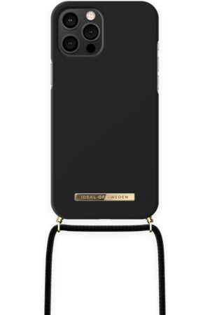 IDEAL OF SWEDEN Telefoon - Ordinary Phone Necklace Case iPhone 12 Pro Max Jet Black