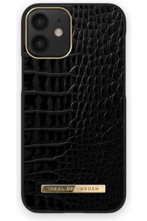 Ideal of sweden Atelier Case iPhone 12 Mini Neo Noir Croco