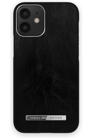 Ideal of sweden Atelier Case iPhone 12 Mini Glossy Black Silver